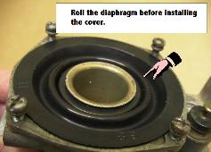We also have the diaphragms for Mikuni 28mm carbs used on some bikes.